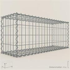 GABIONE / Steinkorb 100 x 40 x 30 cm, Maschenweite 5 x 10 cm, Gabionen