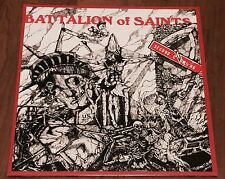 "BATTALION OF SAINTS ""SECOND COMING"" LP , WHITE VINYL"