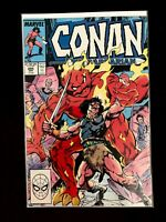 CONAN THE BARBARIAN VOL.1 #205 MARVEL COMICS 1988 VF/NM (1970-1994 SERIES)
