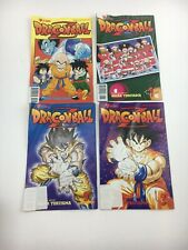 Lot of 4 Dragonball Z Akira Toriyama VIZ Comics Books Series Part 2 1,3 Special