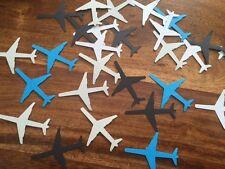 100 Plane Aeroplane Handmade table decoration punches confetti scrap book paper
