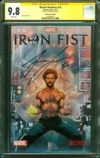 Iron Fist 1 CGC SS 9.8 Finn Jones Signed Netflix Special Ed 2017 Defenders TV