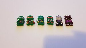 6 x Teenage Mutant Ninja Turtles (TMNT) Magnets Including Splinter & Shredder
