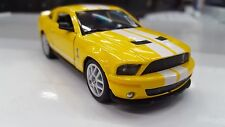 2007 Shelby GT-500 yellow kinsmart TOY model 1/38 scale diecast Car present gift