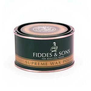 Fiddes Supreme Wood Wax Polish: nourishes, long-lasting finish