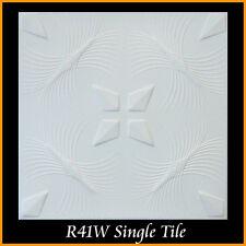 Ceiling Tiles Glue Up Styrofoam 20x20 R41 White Lot of 8