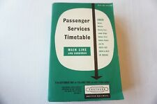 More details for sept 1961 to june 1962 southern region passenger railway timetable & map