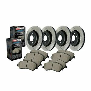 StopTech For Volvo S40 / C30 Disc Brake Pad and Rotor Kit F / R - 934.61079
