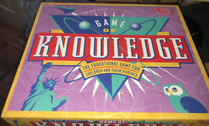 Game of Knowledge Board Game - The Educational Game - Nice & Complete - Freepost