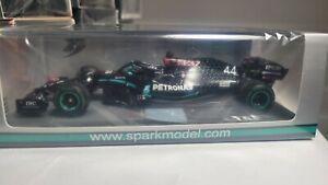 Spark 1:43 Mercedes Benz AMG W11 L.Hamilton 2020 Turkish GP Winner With 5...