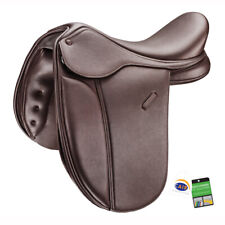 "Bates Pony Show + Adjustable Performance Smart Showing Saddle CAIR Brown 15""-16"""