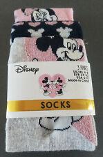 3 Paar Disney Mickey Maus Minnie Mouse Damen Socken Bunt Strümpfe 37-42 Primark