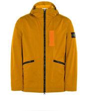 Men's Stone Island Nylon Metal Flock Jacket/Coat Orange SS17 XL Extra Large £525