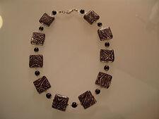 Halskette Kette original Muranoglas Schmuck aus Glas UNIKAT Handarbeit
