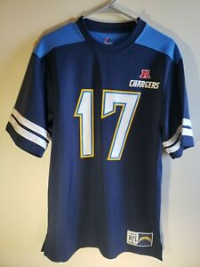 Los Angeles Chargers NFL Blue Mesh Philip Rivers #17 Medium Jersey