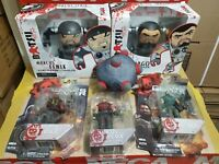 Neca Gears of War Lot Action Figure BATSU Vinyl  Figure Set of 2 & 3 Mini Figure