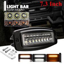 Off-Road 4WD ATV SUV 18LED 54W Dual Color Fog Light Bar LED Work Light Bar