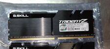 G.SKILL DDR4 32gb TRIDENT Z 4X8GB 4600MHZ  F4-4600C19D 1.5v 19-23-23-43