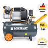 Druckluft Kompressor Luftkompressor 8 Bar Kolbenkompressor 50L Ölgeschmiert 3 PS