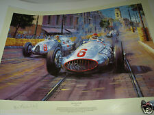 END OF ERA MERCEDES BELGRADE GP Nicholas Watts AUTOGRAPHED MANFRED BRAUTCHITSCH