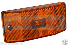 SIM 3141 12V 24V VOLT LED SIDE AMBER SIDE MARKER POSITION LAMP LIGHT 500MM CABLE