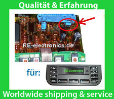 Reparatur Klima Automatik Bedienteil BMW E36 : Kondensator + Reparaturanleitung