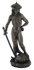 Veronese Bronze Figurine Donatello Statue of David Gift Home Decor LARGE