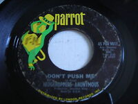 Hedgehoppers Anonymous Don't Push Me 1965 45rpm