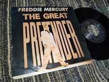 "FREDDIE MERCURY THE GREAT PRETENDER/LOVE KILLS 7"" SINGLE 1992 EU QUEEN"