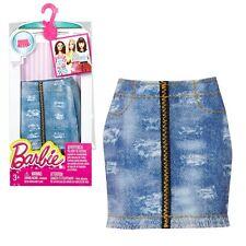 Falda de Mezclilla | Barbie | Mattel DMB39 | Moda | Ropa de la Muñeca