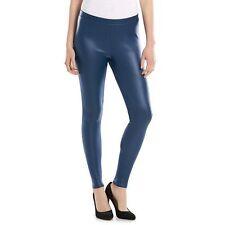 c2c4446c358bbf Lauren Conrad LC Women's Blue Coated Mid Rise Stretch Ankle Leggings Sz XXL  2xl