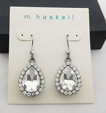 M. Haskell for INC Crystal Drop Earring  Msrp $18.50 *NEW WITH TAG*
