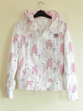 Gorgeous White Fly 53 Hooded Lightweight Jacket - Size 10 - BNWT!!