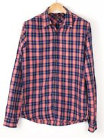 Scotch & Soda Hommes Standard Décontracté Flanelle Chemise Taille L BAZ970