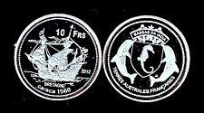 RARE ● BASSAS DA INDIA TAAF : 10 FRANCS 2012 ● FDC UNC