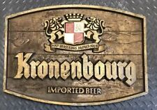 """Kronenbourg Imported Beer 1664 Pub Bar Sign 23"""" x 16.5"""" Used!"""