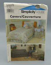 Simplicity House 9800 Sewing Pattern Covers One Size UNCUT