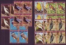 Gestempelte Briefmarken aus Afrika mit Vögel-Motiv