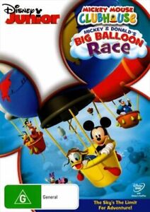Mickey Mouse Clubhouse - Mickey and Donald's Big Balloon Race DVD