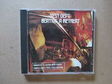 Test Dept. ‎– Beating A Retreat - 1997 UK Enhanced CD - SBZCD023 - RARE & MINT!!