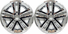 "(2) 2011 FORD EXPLORER 18"" CHROME WHEEL SKINS HUBCAPS 8385P-18"""