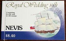 Nevis – 1981 Royal Wedding Booklet – UM (MNH) (Se6)