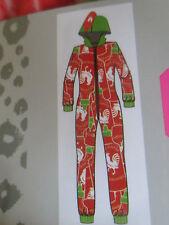Microfleece Adult One pc Hot Sauce CHICKEN Costume body Footie Pajama's M Medium