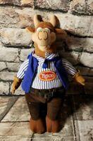 "TYSON FOODS Cow Beef Mascot Plush 10"" p3"