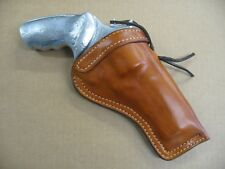 "Taurus Raging Bull 4"" Double Action Revolver Leather Cross Draw Holster Tan"