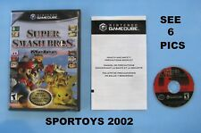 Nintendo Gamecube Super Smash Bros. Melee Best Seller W/ Box