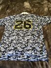 "Rare Xl Adam Frazier Augusta Pittsburgh Pirates Camo Jersey 23x31"" Baseball MLB"