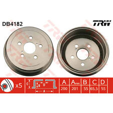 Bremstrommel, 1 Stück TRW DB4182