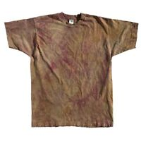 Vintage 90s Thrashed Distressed Faded Blank Single Stitch FOTL T-Shirt XL