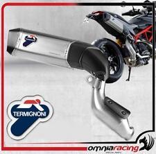 Termignoni D134 Scarico Titanio omologato Ducati Hypermotard 821 Hyperstrada 13>
